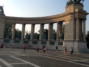 Piata Millenium din Budapesta