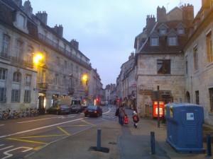 Strada din centrul orasului