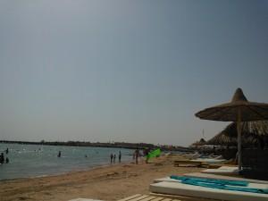 Plaja la Marea Rosie