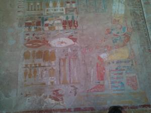 Pictura murala de la templu