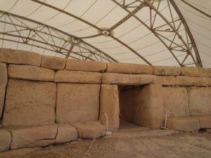 Intrarea in templele de la Hagar Qim