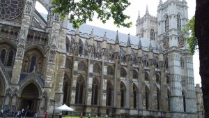 Westminster Abbey - Partea laterala