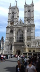 Westminster Abbey - Intrarea