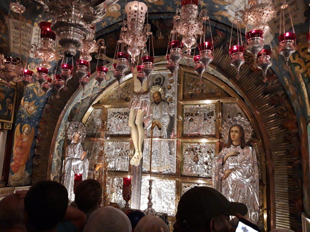 Locul unde Isus a patimit si a murit pe cruce
